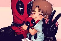 Deadpool x spiderman