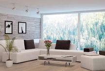 Inspiration - Wohnzimmer / Das Wohnzimmer ist der Blickfang im Inneren einen Hauses. Hier werden Gäste empfangen und Feste gefeiert. Es gibt unendlich viele Möglichkeiten das Wohnzimmer zu gestalten.