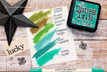 Distress Ink Blends