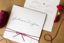 Convites de Casamento Modernos