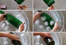 Couper une bouteille