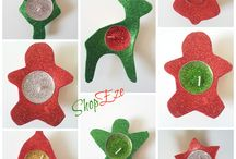 Christmas / Handmade christmas stockings, christmas ornaments,placemats and much more