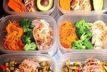 meal prep / If you plan ahead, you can have clean, healthy food 24/7