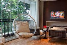 Balanço na decoração / Essas inspirações provam que é possível sim ter um balanço independente do tamanho da sua casa!