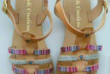 handmade sandals DoK Creations