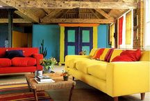 A splash of colour / Adding a splash of colour to any interior can change the feel of a room, make your home feel complete and brighten your mood.