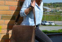 Leather satchels - Gusti Leder studio / Practical, functional and stylish!