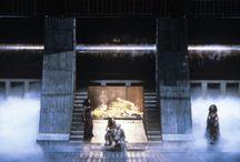 """LE GRAND CHOC DE 1977 / En 1976 je venais de m'installer en Provence.J'avais loué un mas perdu au pied des Dentelles de Montmirail et c'est là que j'ai suivi la retransmission du Ring du Centenaire : Boulez, Chéreau, Péduzzi, Schmidt. Je fus horrifié par le scandale qui arrivait dans ma radio. En 1977 je me rendis à Bayreuth pour voir et entendre ce """"Ring"""" dont j'avais lu le meilleur et le pire : j'ai vécu le plus grand choc de ma vie. Tout changea pour moi, tout ce que je croyais savoir de Wagner, du théâtre, de l'Opéra ! J'ose dire que je suis né durant ces quatre journées à ce qui allait être mon métier qui, sans vouloir imiter m'a fait mettre en scène ce que j'avais compris grâce à Chéreau et Boulez"""