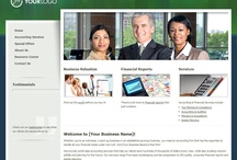 Accountant Websites / Professional Websites for Accountants. Web Start Today helps you create a great impression on your prospects and customers with professional websites designed specifically for Accountants. Our easy to use Website Builder allows you to build a well-constructed, effective online presence in no time at all. / by Web Start Today, Inc.