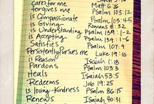 Bible...Faith / by Becky Cate