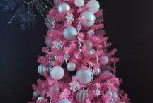 Arboles de Navidad Rosa / 0