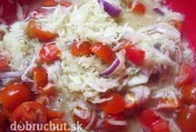 kalerabovo-paradajkovy salat