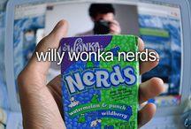 Willy wonka nerds