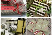 Christmas wrapping ideas / by Brittany Holman