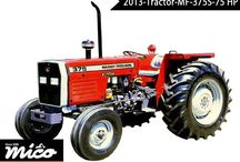 MF 375S 75 HP / New Massey Ferguson Farm Tractor Has A Powerful Engine, 2 Reverse Gears, Dual Clutch, Oil Bath Cleaner, 96 Ah Battery, Ceramattelic, Fuel Tank 60.0, Multi- Disc Brakes, Steering Hydraulic Power Assisted, And It Is The Best Choice For Agriculture.