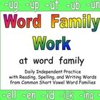 Word Families / by Bonnie Wolf