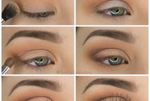 make up tip for green eyes
