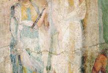Etruria and roman fresco