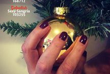 A Magnetic Christmas / Inspiration for Christmas #nailart #christmasnailart