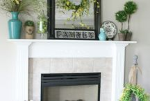 Fireplace/Mantle Decor