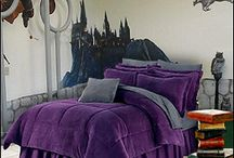 Harry Potter Bedroom / by Jenna Chastain