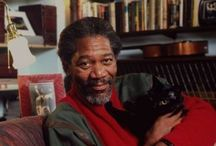 Famous folk with black cats / by Jan Scheel