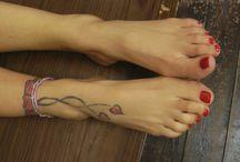 Tattoo feet (wytatuowane stopy)