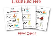 little red hen story props