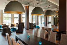 """Motel One / Motel One heeft de filosofie """"Great design for little money"""" en richt zich op stedentrippers en zakenreizigers die op zoek zijn naar een centraal gelegen hotel met design en kwaliteit voor een scherpe prijs.  / by Cherry Picker"""