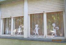 ablak dekor