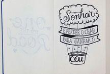 desenhos frases
