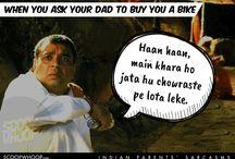 Indian Parents / Growing up with Indian parents.