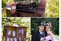 Vintage Steampunk Styled Shoot / Merridale Ciderworks/Deanna McCollum Photography/Victoria Bridal Boutique/Beauty Bride/Bella Fiore Custom Florals/Conscious Hair by Elena