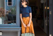 Fashion ∆ Midi Skirts