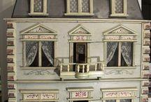 Miniatures - antique dollhouses