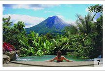 Costa Rica / Rugged rainforests, beautiful coastlines & friendly people characterize stunning Costa Rica. Pura Vida!