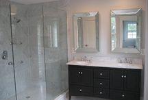 bathroom remodel / by Liz Hamill