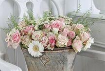 mooie bloemenprent