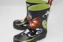 garden footwear / Outdoor garden footwear with Gorgeous prints or designs so good you could wear them to the mall!