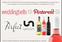 The Weddingbells and Union Wines Perfect Union / by Robyn Bluestein