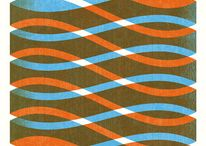 Interlacity / Things that weave, blend, disect, intersect, tapestry like graphics, shadey-shades