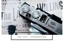 Tax Tips & Information for Photographers