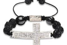 F.O.G. CROSS CHRISTIAN BRACELET - Black Diamond / Be bold and stylish with the NEW F.O.G. Cross Bracelets! Each bracelet is specially hand-made, light weight and adorned with brilliant cut pave crystals for a beautiful shine. The F.O.G. FAVOR OF GOD logo is carved at the tie of bracelet. These cross christian bracelets are a symbol of God's favor, faith, peace and happiness! Rock your F.O.G. Favor Bracelet in style and stand out like a true star!  #FOG Christian Bracelets  #Christian Cross Bracelets #Christian Bracelets / by F.O.G. FAVOR OF GOD
