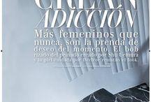Revista Woman Madame Figaro / Reportaje de moda de la revista Woman Madame Figaro sobre la Fundación Rodríguez-Acosta