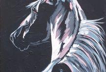 maalausmalleja eläimistä