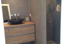 Badkamer tuinhuis