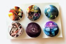 Music Heroes - Button Badges