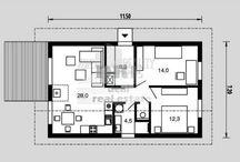 rodinný dom 11x8 m