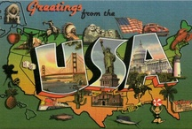 Postcards from US States / Greetings from...
