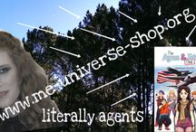 Literary Agents / A professional agent who promotes an author's work- MeUniverseShop